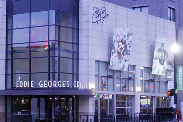 Eddie George's Grille 27 located on 1636 N High St. Credit: Lantern File Photo