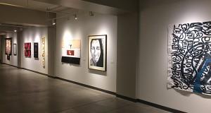 Art on display from Ohio State Arts Scholars at Urban Arts Space. Credit: Sam Kayuha | Lantern Reporter