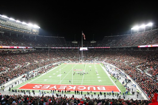 A view of Ohio Stadium during a game against Penn State on Oct. 17 at Ohio Stadium OSU won 38-10. Credit: Samantha Hollingshead / Photo Editor