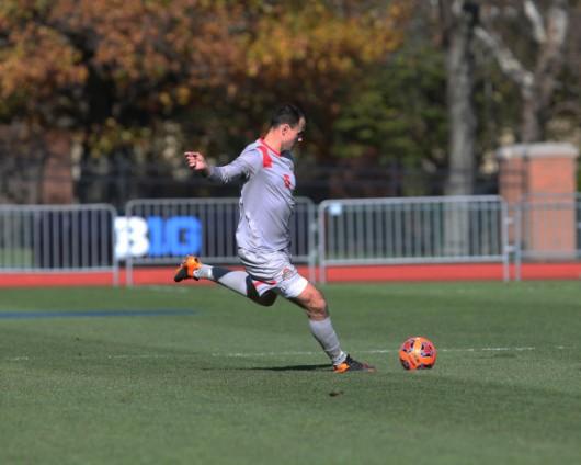 OSU defender Liam Doyle (5) was drafted for the MLS superdraft on Jan 19. Credit: Courtesy of OSU