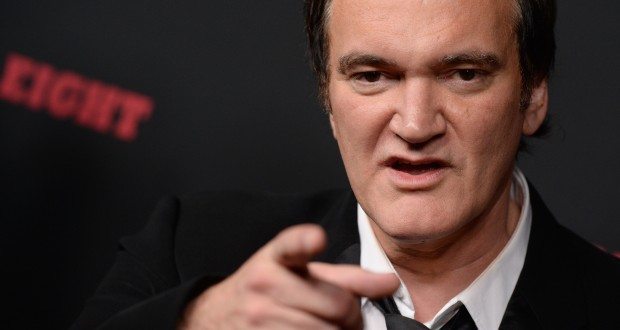 Quentin Tarantino attends the Premiere of The Weinstein Company's The Hateful Eight at ArcLight Cinemas Cinerama Dome on December 7, 2015 in Los Angeles. Credit: Courtesy of TNS