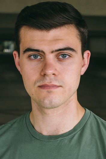 Acting headshot of Trent Rowland, 2015 department of theater graduate. Credit: Courtesy of Trent Rowland