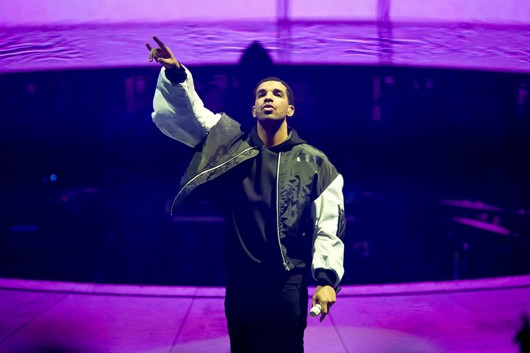 Drake performs at the O2 Arena in London on March. Credit: Courtesy of TNS