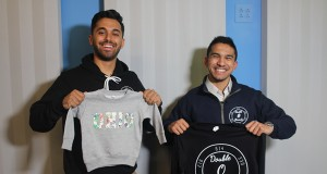 Jaimin Gandhi (left) and Ansh Khare, co-founders of Double O Threads. Credit: Ariana Bernard | Station Manager