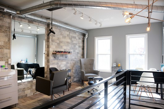 The interior of J Salon, located at 12 Chittenden Ave., was renovated from an old restaurant. Credit: Kevin Stankiewicz | Assistant Sports Editor