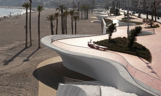 Moab's ROCA Barcelona Gallery is one of Borja Ferrater's firms many projects. Credit: Courtesy of Aleix Bague