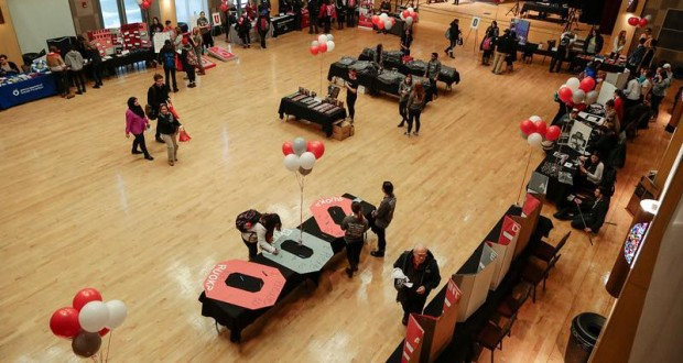 Last year's set up for RUOK? Day. Credit: Courtesy of Buckeyes Campaign Against Suicide