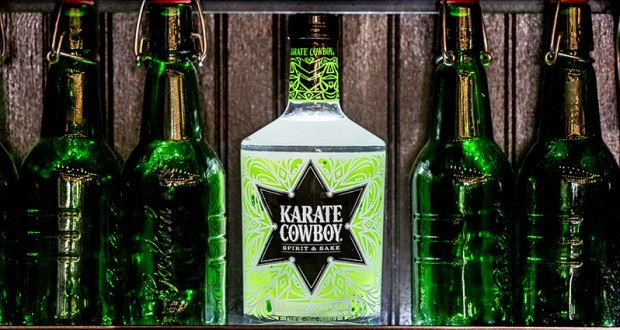 Karate Cowboy, a new Columbus based liquor was created by an OSU alum. Credit: Courtesy of Karate Cowboy