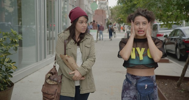 "Abbi Jacobson, left, and Ilana Glazer in ""Broad City"" on Comedy Central. Credit: Courtesy of TNS"