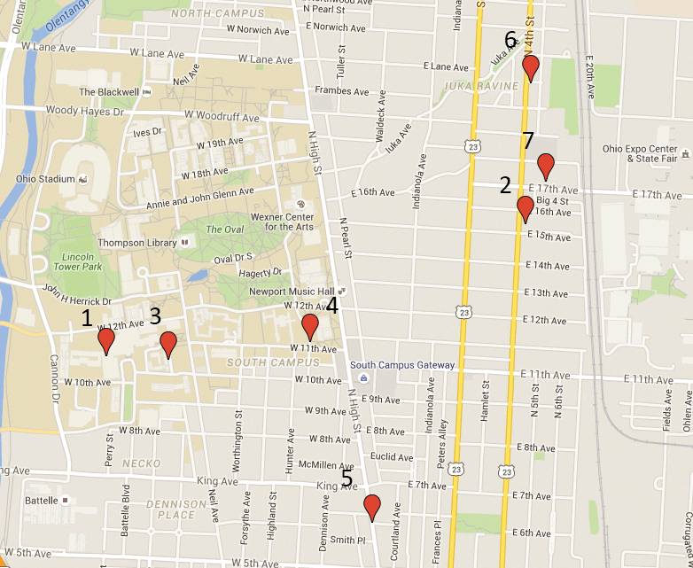Credit: Google Crime Map. Photo illustration by Jay Panandiker