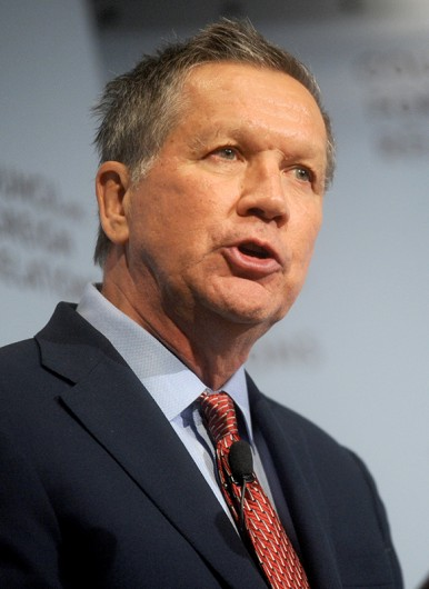 Ohio Governor and Republican Candidate for President of the United States John Kasich. Credit: Courtesy of TNS
