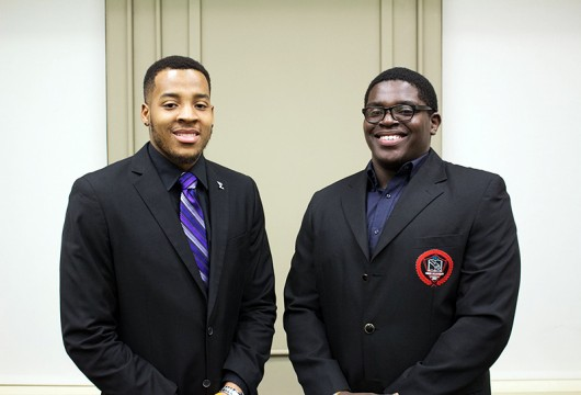 Cin'Quan Haney (left) and Curtis Henry (right), are the founders of the United Project. Credit: Courtesy of Jack Brandl.