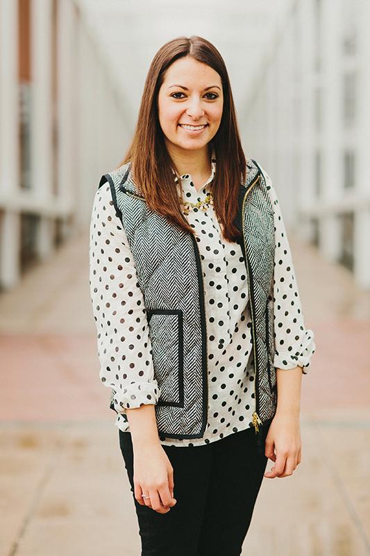 Vice presidential candidate Danielle Di Scala. Courtesy of Alex Broadstock