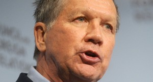 Ohio Governor and Republican Candidate for President of the United States John Kasich speaks at the Council on Foreign Relations in New York City, NY, USA, on December 9, 2015. Photo by Dennis Van Tine/ABACAPRESS.COM