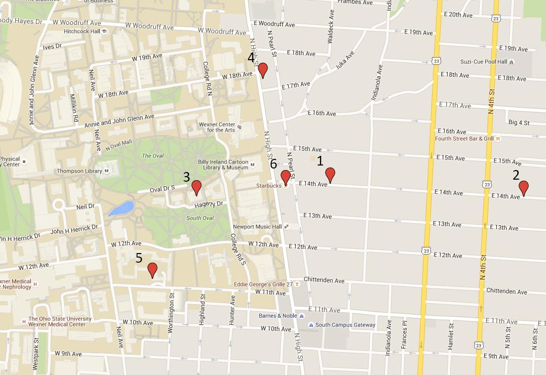 Credit: Google Maps. Photo illustration by Michael Huson |Campus Editor