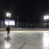 Patrons skate at the Columbus Blue Jacket's Winter Park in downtown Columbus. Credit: Courtesy of Kathleen Senge