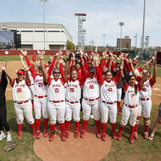 Members of OSU softball team. Credit: Courtesy of OSU