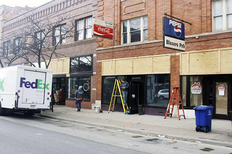 Short North Coffee House located at 1203 N. High St. is currently under construction. Credit: Kevin Stankiewicz   Assistant Sports Editor