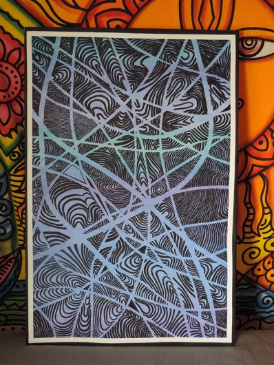 "Claudia McAllister-Peterson's painting, ""Tedi."" Credit: Courtesy of Claudia McAllister-Peterson"