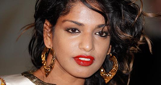 UK singer Mathangi Arulpragasam aka M.I.A. Credit: Courtesy of TNS