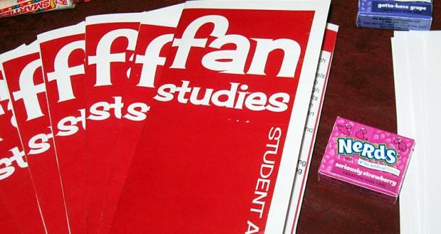 Flyers for the Fan Studies Student Association. Credit: Courtesy of Sarah Dunlap