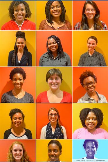 Women Student Initiatives co-chairs. Credit: Courtesy of Janaya Greene