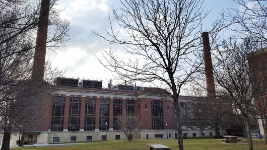 McCracken Power Plant located on OSU's campus at 304 Annie & John Glenn Ave. Credit: Michael Huson | Campus Editor
