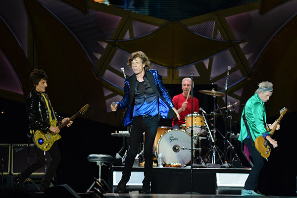 The Rolling Stones are one of many bands that students will learn about in the class. Credit: Kevin Stankiewicz | Assistant Sports Editor