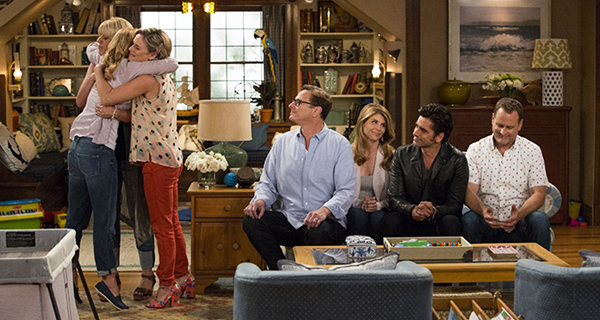 "The cast of ""Fuller House."" Credit: Courtesy of TNS"
