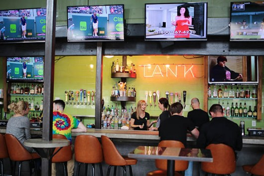 Ethyl N' Tank, located at 19 E 13th Ave, offers food and drink throughout the day. Muyao Shen | Assistant Photo Editor