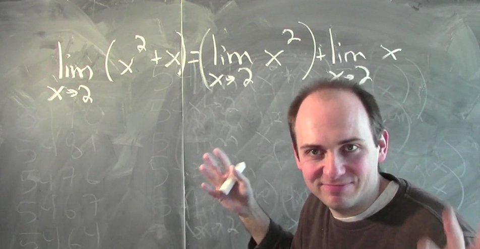 Math professor Jim Fowler uses high energy online videos to teach calculus concepts to students around the world. Credit: Courtesy of Coursera