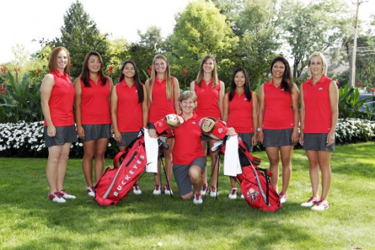 Members of the OSU women's golf team. Credit: Courtesy of OSU