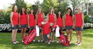 women's golf team featured