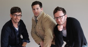 The Lonely Island poses for a photo in Ohio Union on April 24. Credit: Sallee Ann Ruibal | Arts&Life Editor