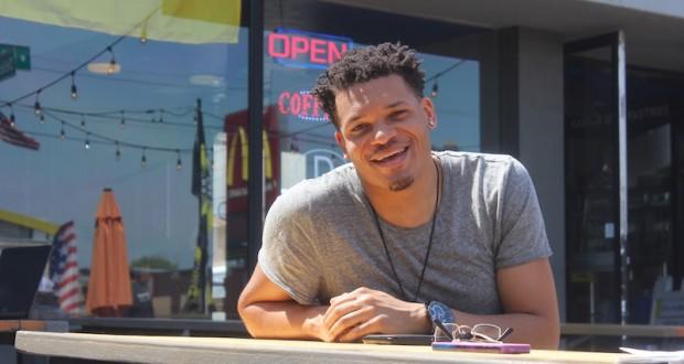 Columbus artist Christon Gray sat down for an interview with The Lantern on April 20. Credit: Zak Kolesar
