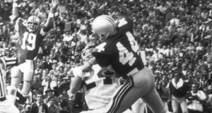 Former OSU player Ray Griffin (44) played for OSU from 1974-1977. Credit: OSU Athletics