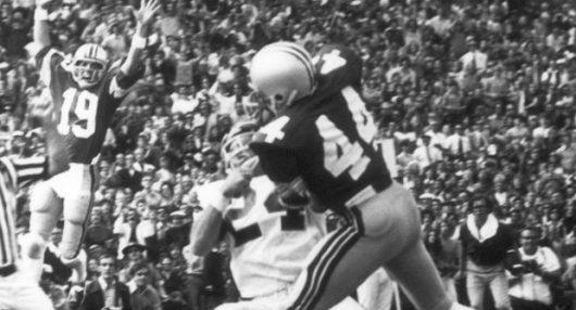 Former OSU player Ray Griffin (44) played for OSU from 1974-1977. Credit: OSU Athletics
