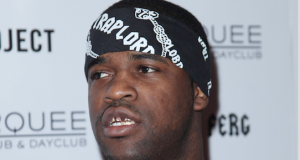 Rapper A$AP FERG arrives at Marquee Nightclub for a special performance at The Cosmopoiltan in Las Vegas on February 20, 2014. Credit: Courtesy of TNS