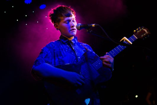 Irish singer/songwriter SOAK opens for George Ezra at Dingwalls, Camden in London on March 14, 2014. Credit: Courtesy of TNS.