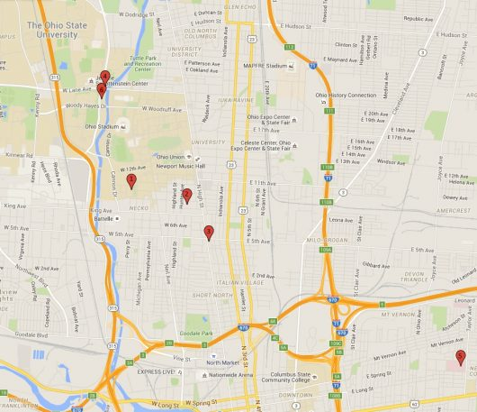 Google Crime Map, Photo Illustration by Mitch Hooper | Engagement Editor