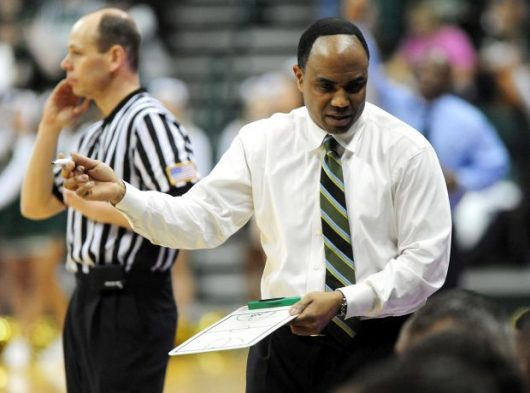 Former Charlotte head coach Alan Major, right, hired by Ohio State. Courtesy: TNS