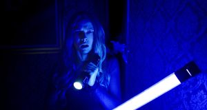 "Theresa Palmer in ""Lights Out."" Credit: Courtesy of TNS."