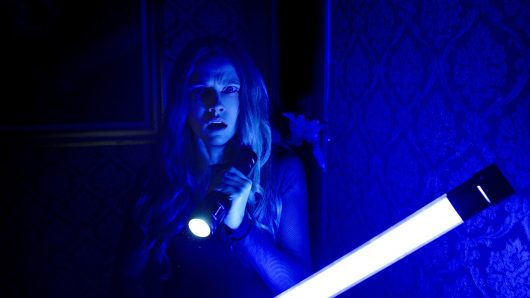 """Theresa Palmer in """"Lights Out."""" Credit: Courtesy of TNS."""