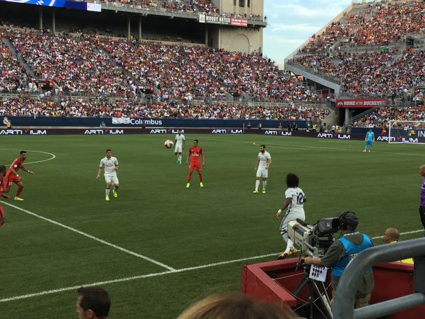 PSG tops Real Madrid in record-setting International Champions Cup