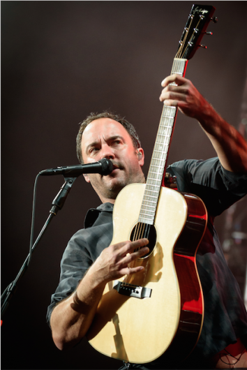 Dave Matthews of Dave Matthews Band performs a sold out show at Molson Canadian Amphitheatre on July 21, 2015. Credit: Courtesy of TNS