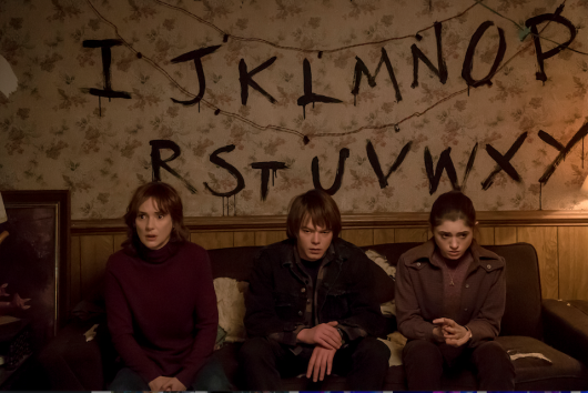 A still from Netflix's new series, Stranger Things. Credit: Courtesy of TNS