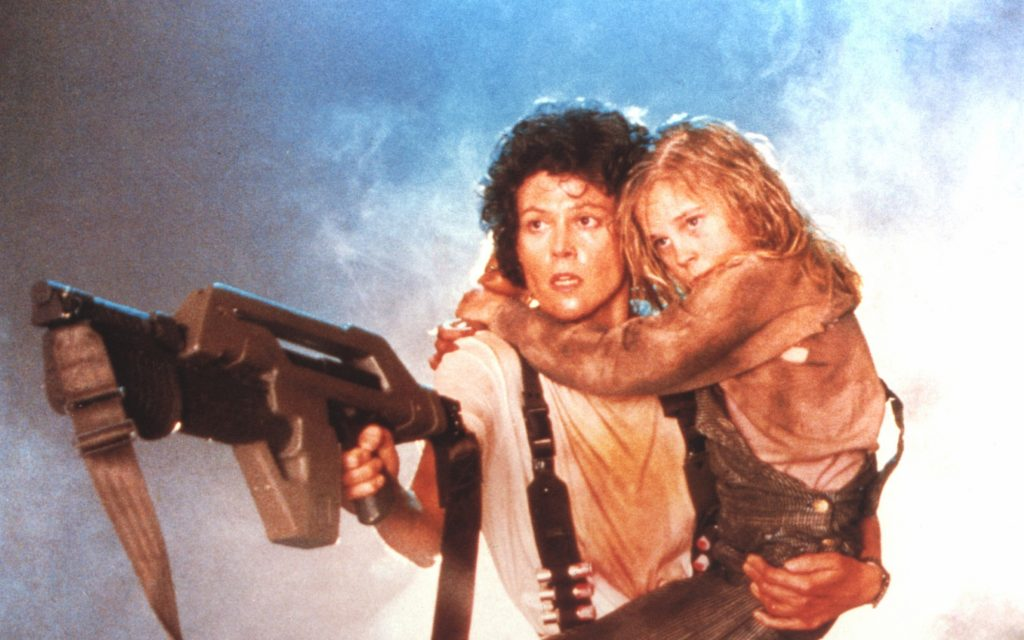 """A still from """"Aliens,"""" starring Sigourney Weaver, which is set to show at the Wex on Saturday. Credit: Courtesy of Twentieth"""