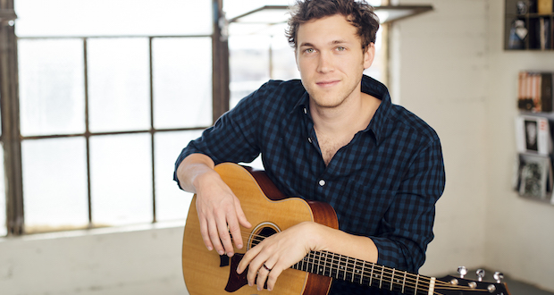 """Phillip Phillips, folk-rock singer and season 11 winner of """"American Idol,"""" is set  to perform Tuesday at EXPRESS LIVE! Credit: Courtesy of Promowest"""