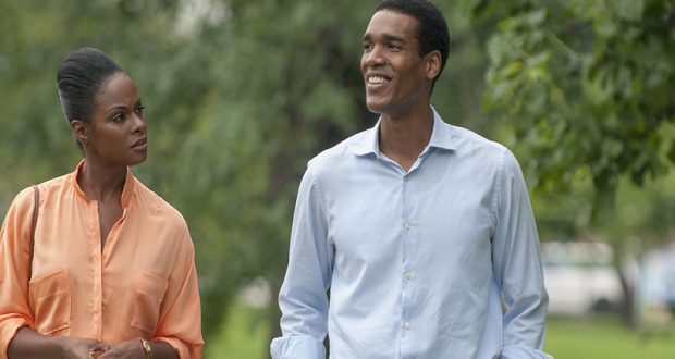 """""""Southside With You,"""" recounts the first date between President Barack Obama and the First Lady, Michelle Obama. Credit: Courtesy of TNS"""