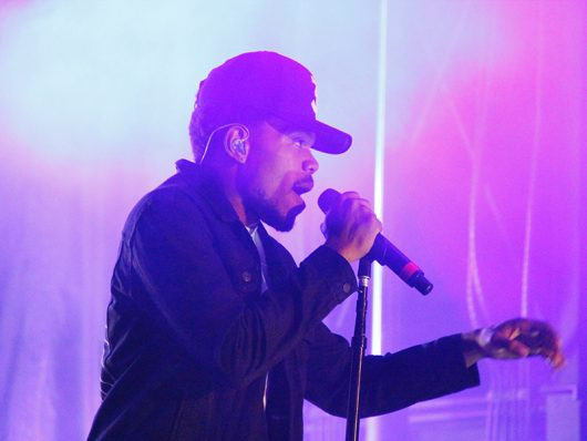 Chance The Rapper performs at Breakaway Festival at the Ohio Expo Center on Aug. 26, 2016. Credit: Mason Swires   Assistant Photo Editor